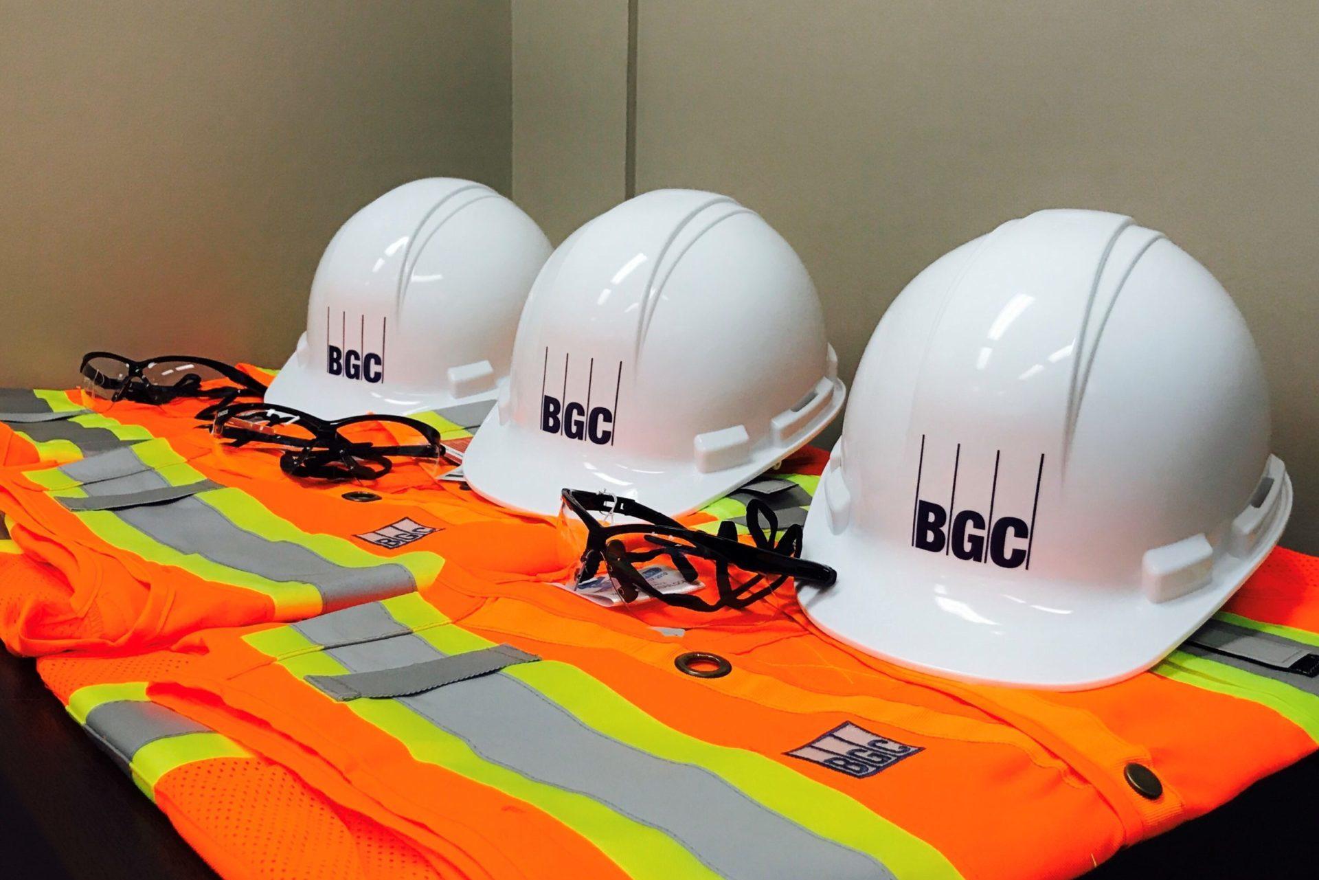 Three sets of BGC PPE