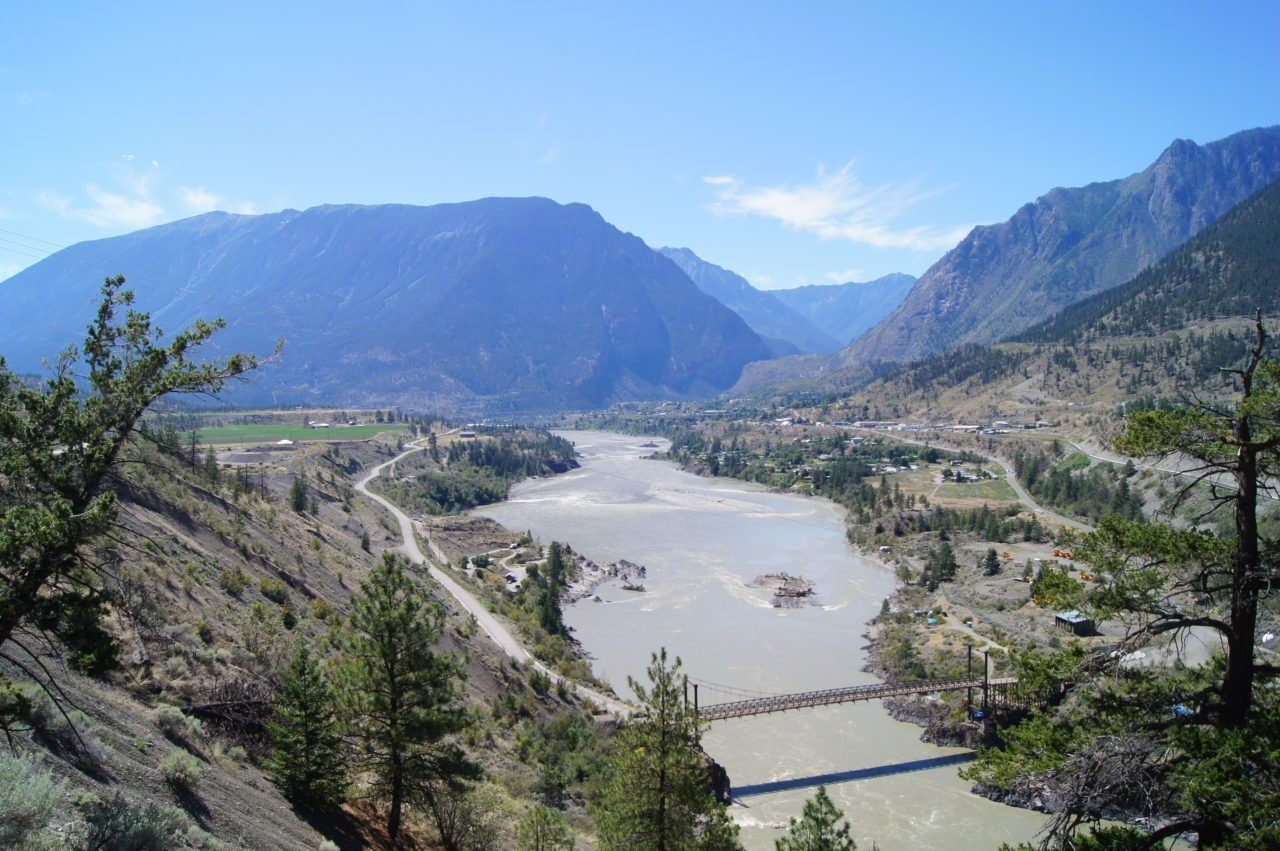 Thompson River by Lillooet, BC